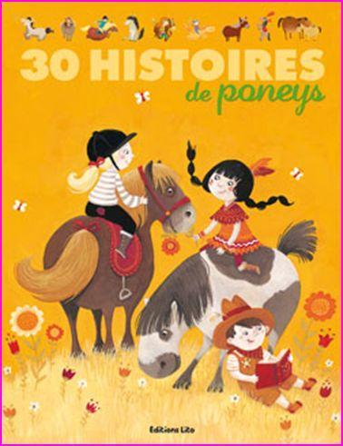 couv 30 histoires de poneys
